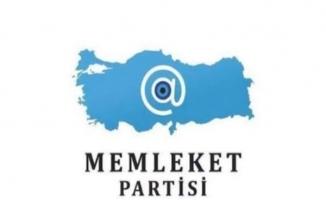 Memleket Partisi'nin logosu belli oldu
