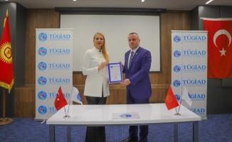 TÜGİAD Temsilciliği Avrasya ile Türkiye arasında köprü olacak