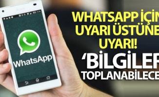 'WhatsApp'ta kişisel verilerin kullanımı hakkında önemli detaylar incelenmeli'