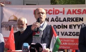 Yeniden Refah Partisi'nden 'Mescid-i Aksa' açıklaması
