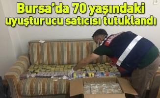 Bursa'da 70 yaşındaki uyuşturucu satıcısı tutuklandı