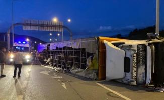 Bursa'da feci kaza: 1 ölü, 1'i bebek 2 ağır yaralı
