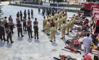 Ekipler yangın riskine hazır