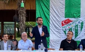 """Emin Adanur: """"Bursaspor'un geleceği 500 bin Euro'ya çöp edilmiş"""""""
