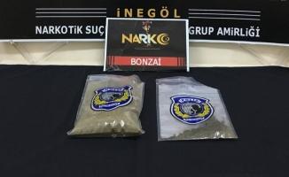 İnegöl'de uyuşturucu operasyonu: 4 gözaltı