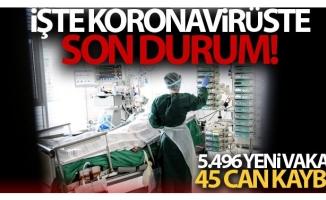 Koronavirüste son veriler açıklandı