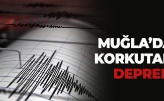 Muğla'da 5.3 büyüklüğünde korkutan deprem