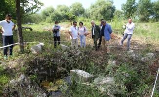 Nilüfer'den Gölyazı arkeolojik kazılarına tam destek