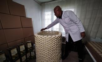 (Özel) Evinde ürettiği sabunları Almanya'ya ihraç ediyor