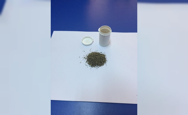 Bursa'da uyuşturucu operasyonu 2 gözaltı