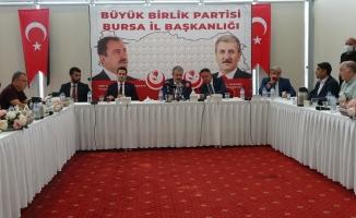 """BBP Genel Başkanı Destici: """"Anayasa Mahkemesinin de HDP'yi kapatacağına inanıyorum"""""""