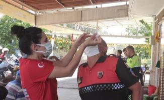 Bursa İl Sağlık Müdürlüğü'nden yangın bölgesine destek