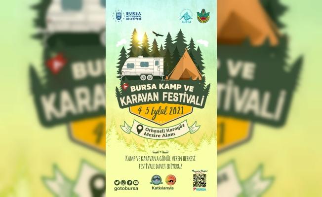 Bursa kamp ve karavan festivali başlıyor