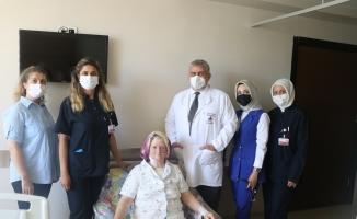 Bursa'da ilk defa yapılan ozaki ameliyatıyla hayata tutundu