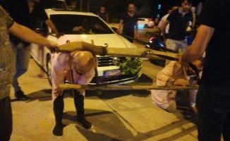 Damada öküz boyunduruğu takıp araç çektirdiler