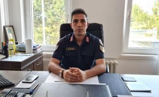 İznik Jandarma Karakol Komutanı Duran göreve başladı
