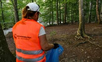 Mustafakemalpaşa ormanlarında temizlik seferberliği