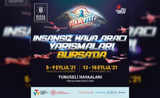 TEKNOFEST 2021 İHA yarışları Bursa'da yapılacak