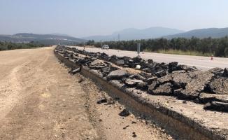 TOGG yolundaki yeni asfaltın kazılmasına tepki