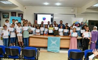 TÜGVA'lı gençlere sertifika