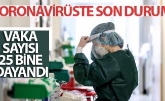Türkiye'nin 3 Ağustos koronavirüs tablosu açıklandı: Vaka sayısı 25 bine dayandı