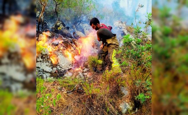 Yangın bölgesine takviye sürüyor