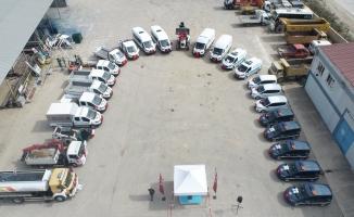 İnegöl Belediyesi'nin Araç Filosu Güçleniyor
