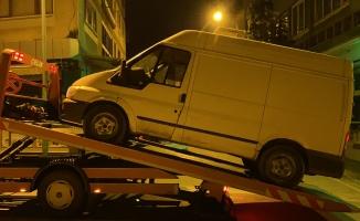 Polislerin üzerine aracı süren alkollü sürücü yakalandı