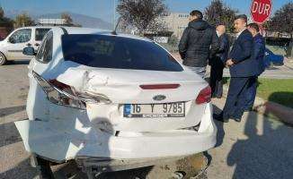 Belediye Başkan Yardımcısı Kazada Yaralandı