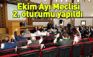 Ekim Ayı Meclisi 2. oturumu yapıldı