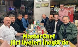 MasterChef  jüri üyeleri İnegöl'de