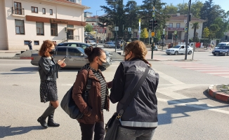 Narkotik polisleri, 'En İyi Narkotik Polisi Anne' projesini vatandaşa anlattı