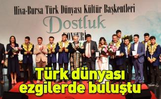 Türk dünyası ezgilerde buluştu
