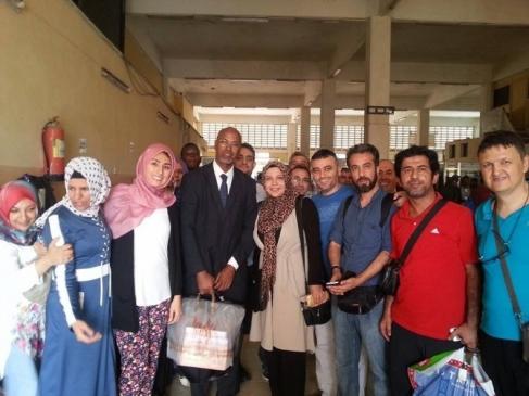 Sağlık Çalışanları Somali'de