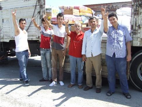 Ülkü Ocakları'ndan Türkmenlere Destek