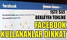 Facebook hesabınız aniden kapatılabilir!
