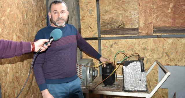 Karadeniz Fıkrası Gibi! Sinoplu Mucit, Buzdolabıyla Evini Çok Ucuza Isıttı
