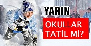 13 Ocak okullar tatil mi? istanbul