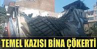 İnegöl'de Bina Çöktü