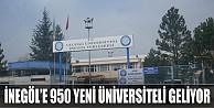 İnegöl'e 950 Yeni Üniversiteli Gelecek