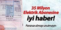 35 Milyon Elektrik Abonesine Tazminat Hakkı