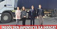 İnegöl'de Japonya'ya İlk İhracat