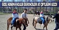 Özel Kosova Koleji Öğrencileri At Çiftliğini Gezdi