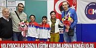 Voleybolcular Kosava Eğitim Kurumlarının Konuğu Oldu