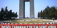 İnegöl Çanakkale'de 534 Şehit Verdi