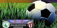 Sivas Belediyespor:0 - İnegölspor:0