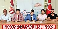 İnegölspor'a sağlık sponsoru