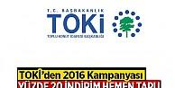 TOKİ'den 175 bin kişiye indirim kampanyası