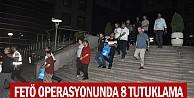 İnegöl'de  FETÖ operasyonu: 8 kişi tutuklandı