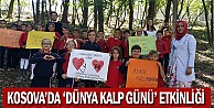 Kosova'da 'Dünya Kalp Günü' etkinliği